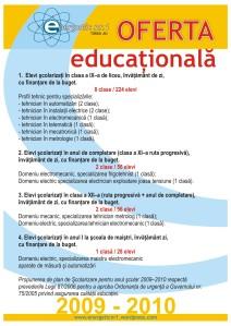 afise A3 2009-2010 oferta educationala