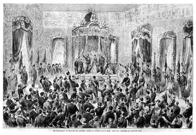 incoronarea regelui carol I