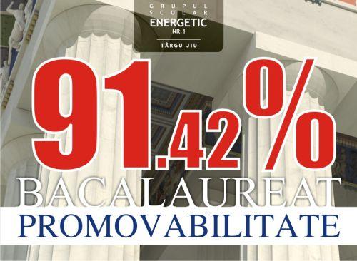 procent bac 2009