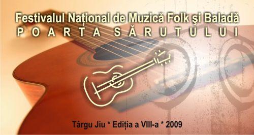festivalul national de muzica folk si balada poarta sarutului 2009