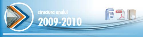 2009 ceac structura anului scolar 2009-2010