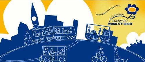 European Mobility Week Targu Jiu Energetic 2009 front